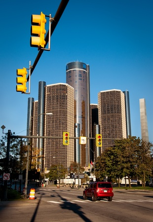 Downtown Detroit Streets
