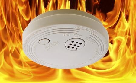 火災警報 写真素材