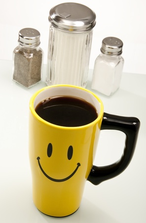 Counter Condiments with a Smile photo