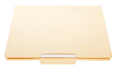 Manilla File Folder Banque d'images