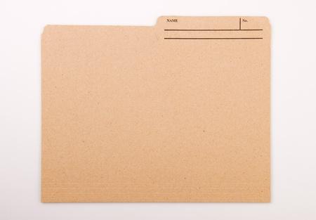 Labeled File Folder
