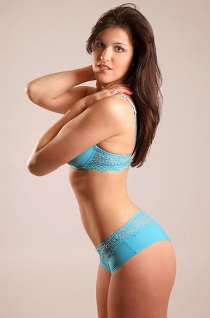 undies: Fitness Female Stock Photo