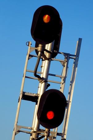Train Yard Signal Stock Photo - 11464191