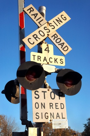 Railroad Crossing Signal photo
