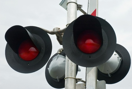 railroad crossing: Railroad Crossing Signal