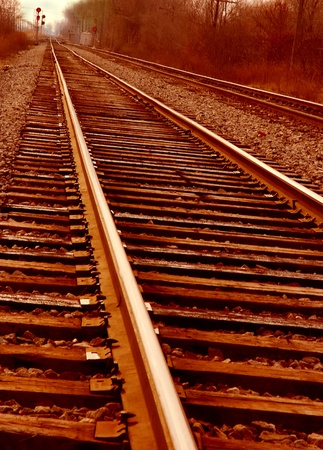 mainline: Mainline Track Sunset