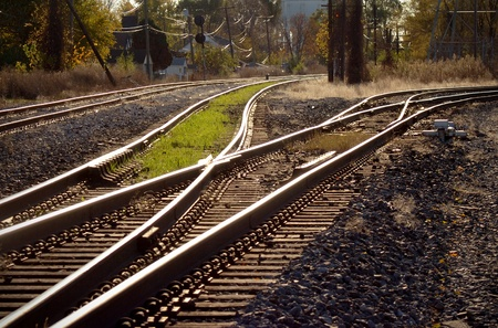 mainline: Railroad Track Switch