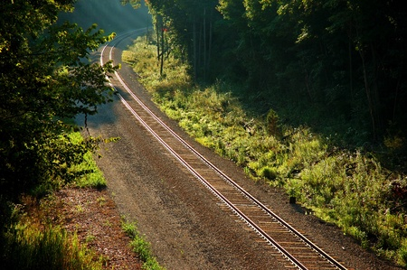 mainline: Countryside Mainline Train Track