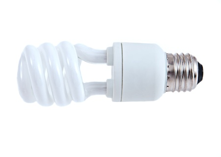 iluminate: New style light bulb on white