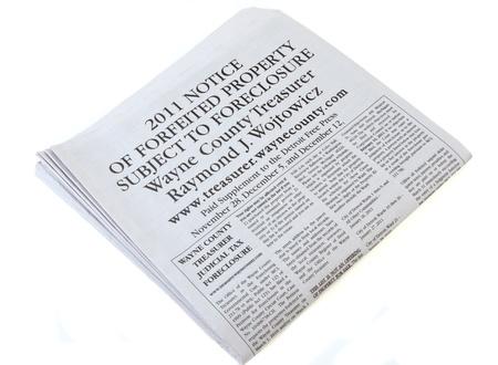 Foreclosure News Editorial