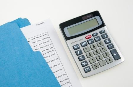 Calculating Budget photo