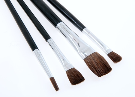 different jobs: Various size brushes for different jobs
