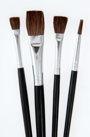 Various size brushes for different jobs
