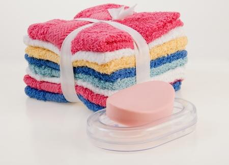 Bar Soap and Wash Cloth Set
