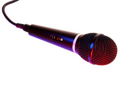 Pro stage and studio Microphone Stock fotó - 15852474