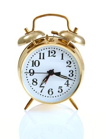 Wind-up alarm clock with bells Zdjęcie Seryjne - 15852527