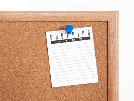 Shopping and to-do list notes Stock Photo - 15852940