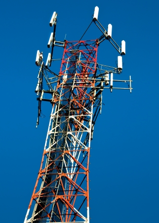 Satelite communications tower for wireless devices photo