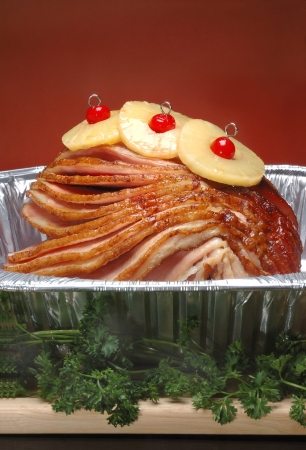 Sliced Holiday Ham photo