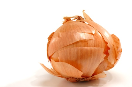 Dry Onion Skin Stock Photo