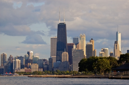 Downtown Chicago Skyline photo