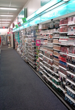 store: Drug Store Wall Display