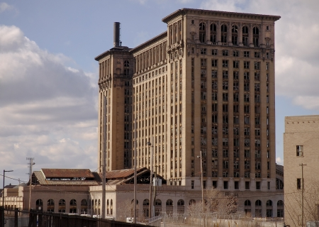 Old Train Station Detroit