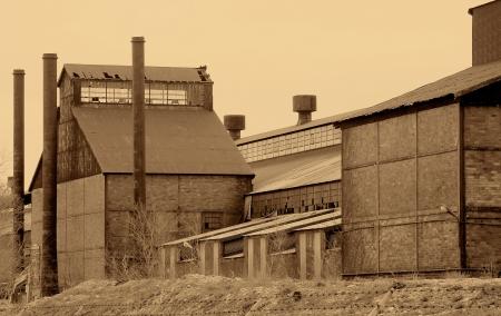 steel: Closed Steel Factory Vintage