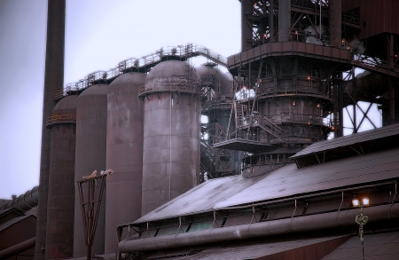 Steel Mill Blast Furnace photo