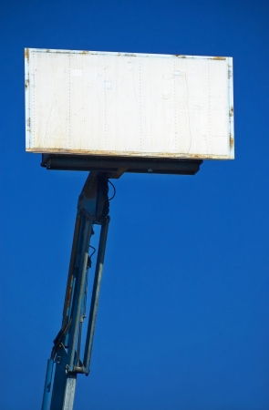 Blank Portable Billboard