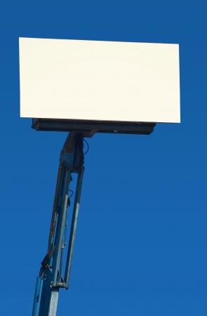 Blank Portable Billboard