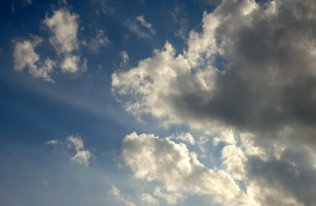 Rimlit Storm Clouds