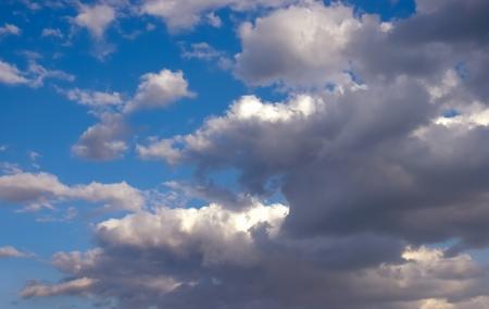 Partly Blue Sky Stok Fotoğraf