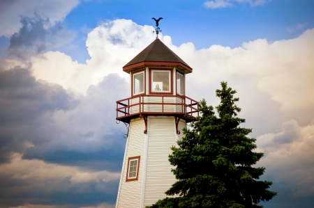 Michigan Great Lakes Light House photo
