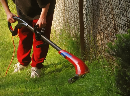 Summer Backyard Chores Stock Photo - 16063091