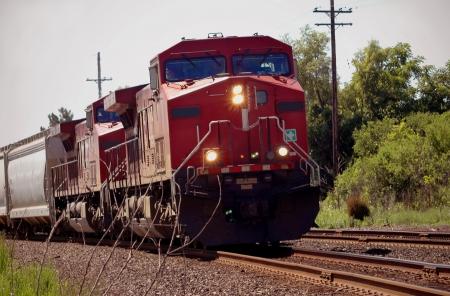 Train on Mainline in Michigan