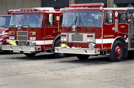 Local Fire Deptartment Engines