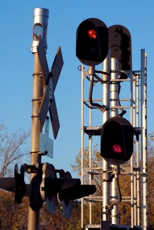 Train Traffic Signal Stock Photo - 15933631
