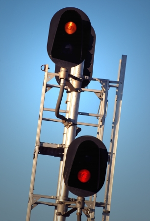 Train Traffic Signal Stock Photo - 16062734
