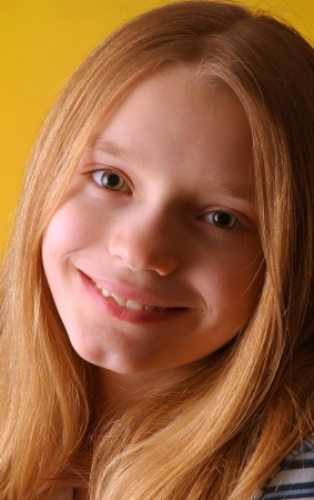 Smiling Blonde Girl Stock Photo - 15934701