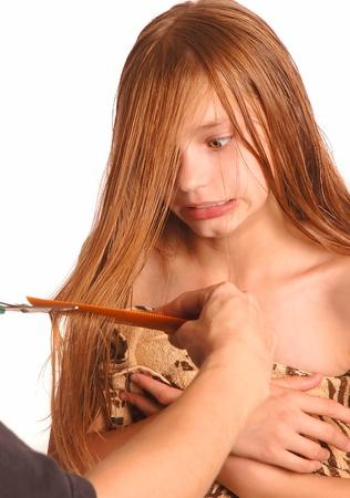 pubertad: Conseguir corte de pelo