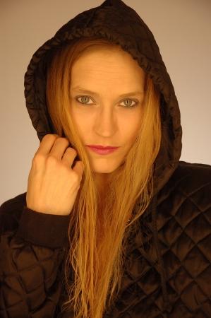 hoody: Готический капюшоном Мода Фото со стока