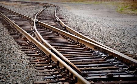 Mainline Railroad Track Switch