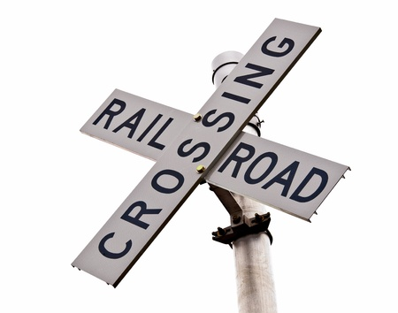 Rural Rail Crossing Sign