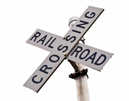Rural Rail Crossing Sign