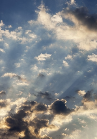Heavenly Sun Beams