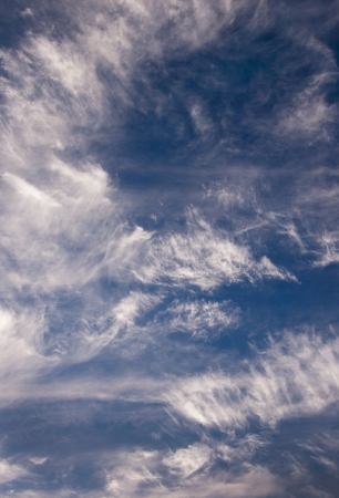 Blue Sky with High Clouds