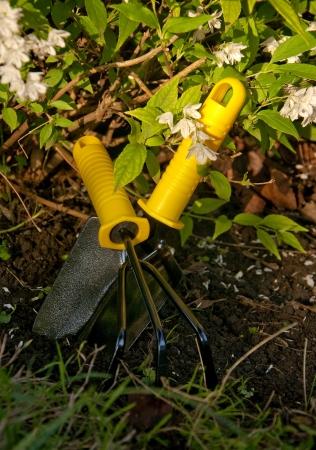 Gardening Tools Reklamní fotografie