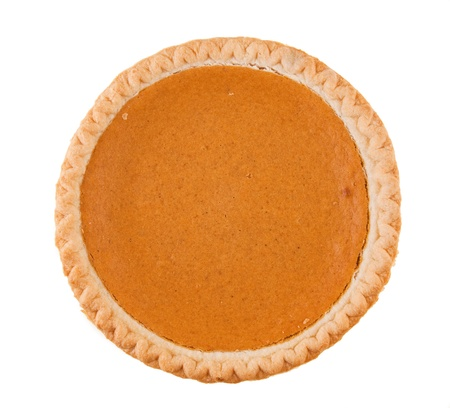 Fresh Pumpkin Pie Stock Photo - 16012395