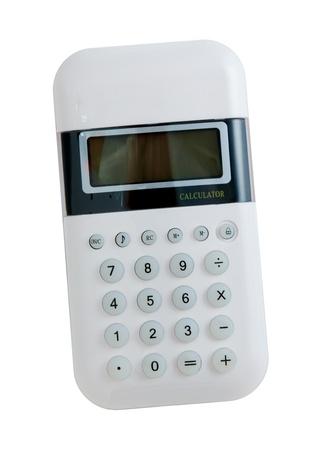 highkey: Fancy White Handheld Calculator